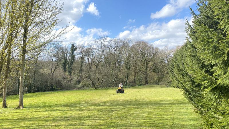 Lawn Mowing In East Devon